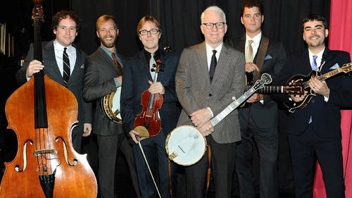 Steve Martin with Steep Canyon Rangers